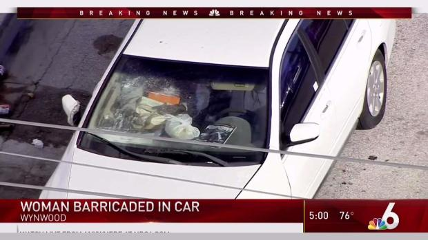 [MI] Woman in Car in Standoff With Police in Wynwood