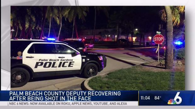 [MI] Gang Member Killed, Palm Beach Deputy Shot in Face