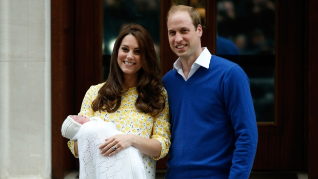 PHOTOS: Celebration as Royal Baby Arrives