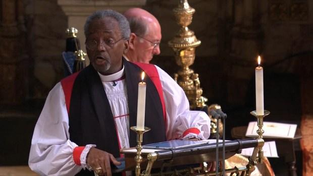[NATL] American Reverend Evokes MLK at Royal Wedding