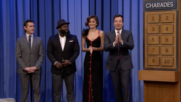 [NATL] 'Tonight': Charades with Zendaya and Billy Crudup