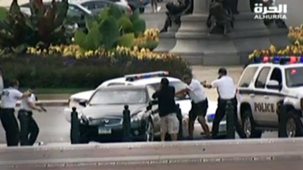 [NATL DC] Female Suspect Leads Secret Service on Chase Near Capitol