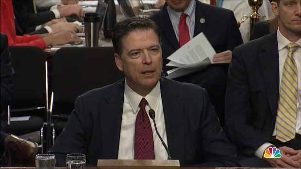 Comey: 'Variety of Reasons' Sessions' Involvement With Russia Probe Problematic