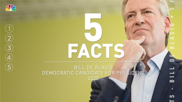 5 Facts: Bill De Blasio