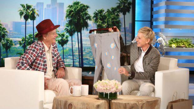 "[NATL] Comedian Bill Murray's Christmas Special on ""The Ellen Degeneres Show"""