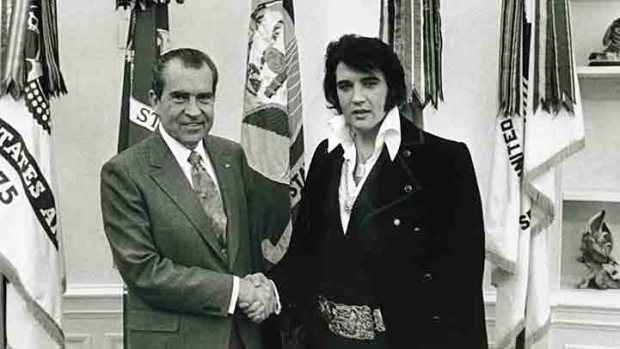 """Elvis & Nixon"" to Star Bana & Houston"