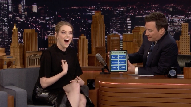 [NATL] 'Tonight': Emma Stone Takes 'Which Spice Girl Are You?' Quiz