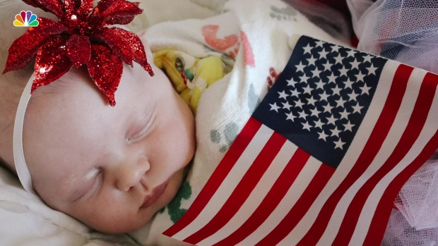 [NATL] Red, White and Baby: Infants at NICU Dressed for the 4th