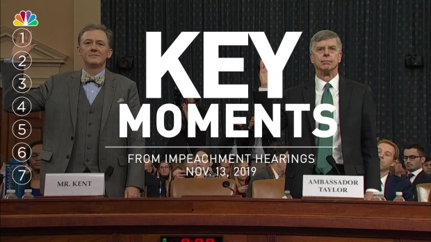 [NATL] Key Moments From Impeachment Hearing