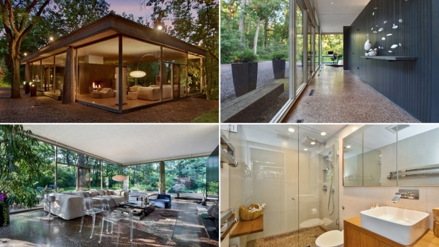[NATL-CHI] See Inside: Glass House in Suburban Chicago on the Market