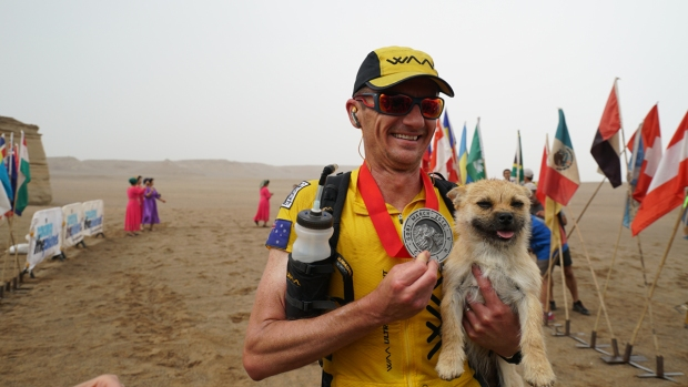 Unbelievable Animals: Ultramarathoning Dog Scores Movie Deal