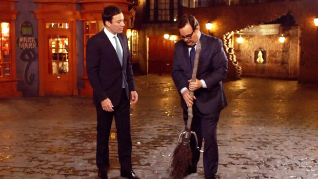 "[NATL] ""The Tonight Show"" Takes Orlando's Wizarding World of Harry Potter"
