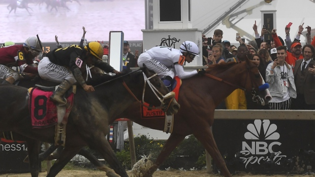 [NATL] Justify Wins Preakness, Sets Sights on Triple Crown
