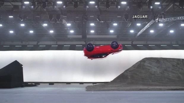 [NATL] New Jaguar Sets Record With Bond Movie Stunt