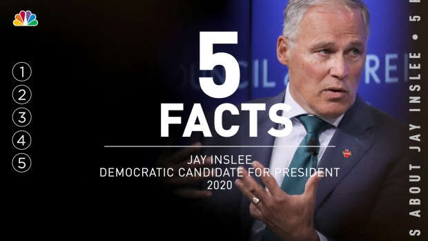 5 Facts: Jay Inslee