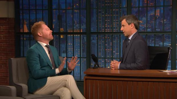 [NATL] 'Late Night': Jesse Tyler Ferguson Was a Business-Savvy Babysitter