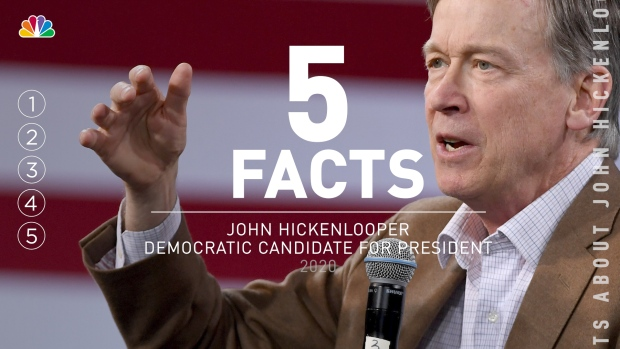 5 Facts: John Hickenlooper