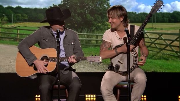 'Tonight Show' Keith Urban Sings about 'FML'