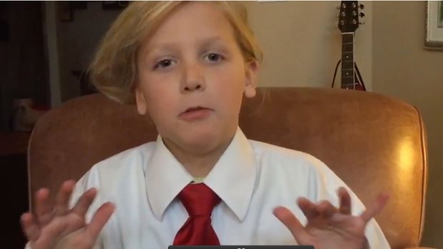 [NATL] 'Tonight Show' Kid Impressions Donald Trump Edition