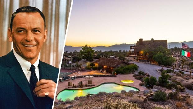 Frank Sinatra's Lavish Desert Hideaway Listed for $3.9M