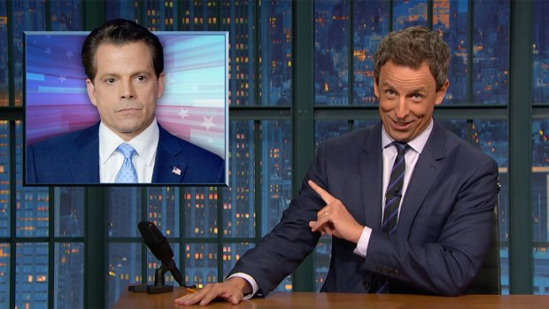[NTL] 'Late Night': A Closer Look at Scaramucci's Resignation