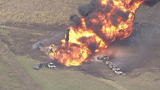 [DFW] Gas Pipeline Explosion Rocks Milford