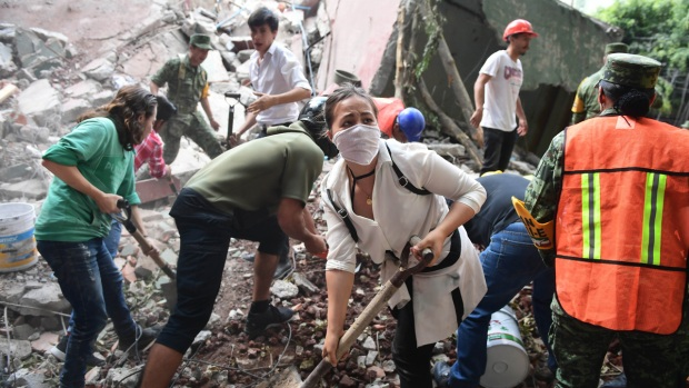 Top News Photos: Deadly Earthquake in Mexico