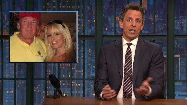 [NATL] 'Late Night': A Closer Look at Trump's Unhinged Rally, Betsy DeVos' Train Wreck Interview