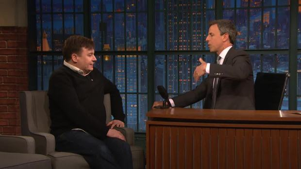 [NATL] 'Late Night': Mike Myers Talks About His Intense Love of Soccer
