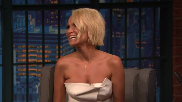 [NATL] 'Late Night': Kristin Chenoweth Based Her 'Trial & Error' Character on Hannibal Lecter