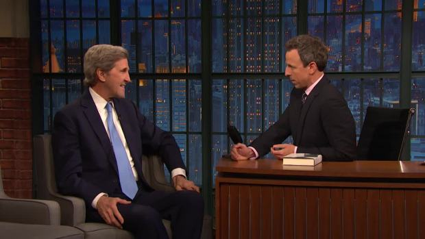 [NATL] 'Late Night': Kerry Played High School Hockey With Mueller