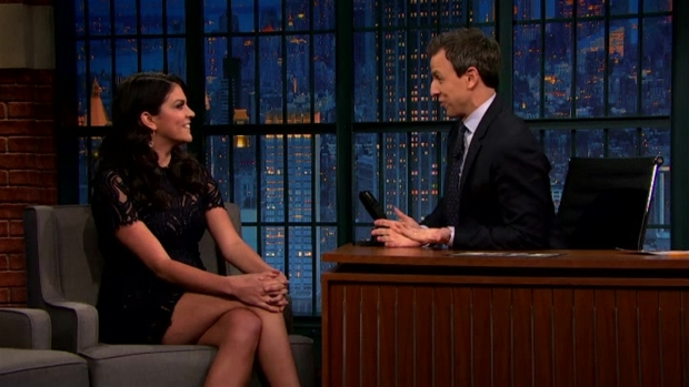 [NATL] 'Late Night': Cecily Strong's Melania Trump Moment