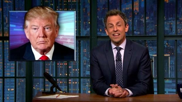 [NATL] 'Late Night': A Closer Look at Donald Trump's Closing Arguments