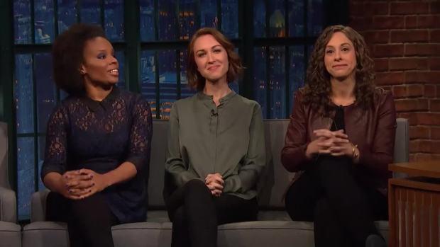 [NATL] 'Late Night' Women Writers Respond to Harvey Weinstein