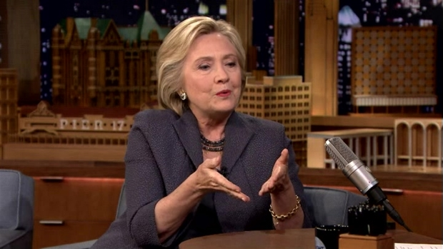 [NATL] 'Tonight Show': Clinton on Breaking Barriers, Fighting Bigotry and Debating Trump