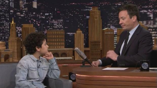 'Tonight Show': Emotional Advice from 12-Year-Old Ciro Ortiz