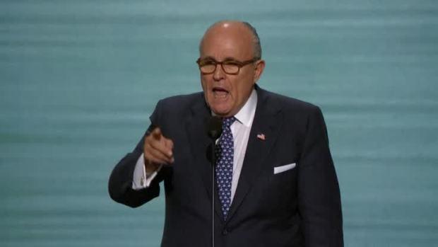 [NATL] Giuliani Revs Up Republican National Convention