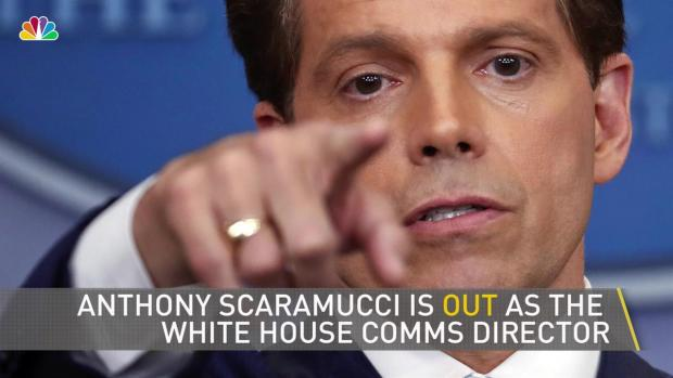 [NATL-NY] Scaramucci Out as WH Communications Director