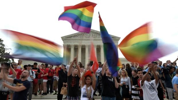 [NATL] Gay Marriage Ruling Cheered Nationwide
