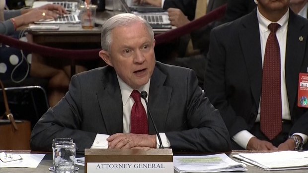 [NATL] Sessions Gets Heated in Exchange With Oregon Senator