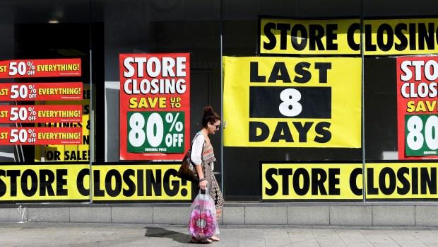 [NATL] Brick-and-Mortar Stores Are Closing
