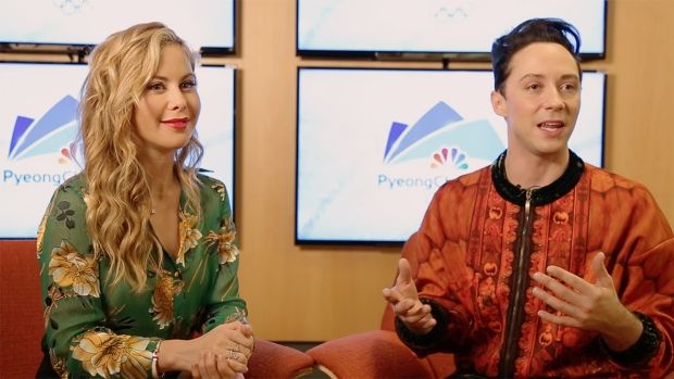 [NATL] Tara Lipinski and Johnny Weir Make Pyeongchang Predictions