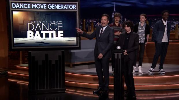 [NATL] 'Tonight': Dance Battle With the 'Stranger Things' Kids