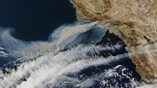 [NATL-LA GALLERY UPDATED 5/6] Smoke and Fire From Space: Wildfire Images From NASA Satellites