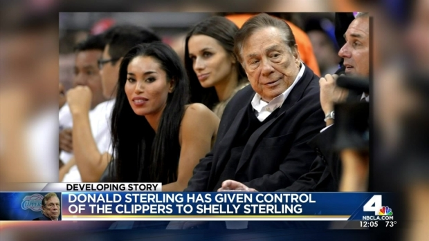 [LA] Donald Sterling To Hand Over Team to His Wife