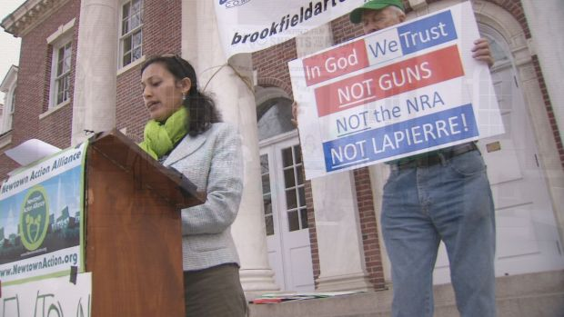 [HAR] Newtown Supporters And Residents Read Names Of Those Lost To Gun Violence