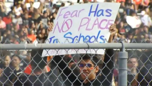 #DouglasStrong: Thousands of Students Protest Gun Violence at South Florida Schools