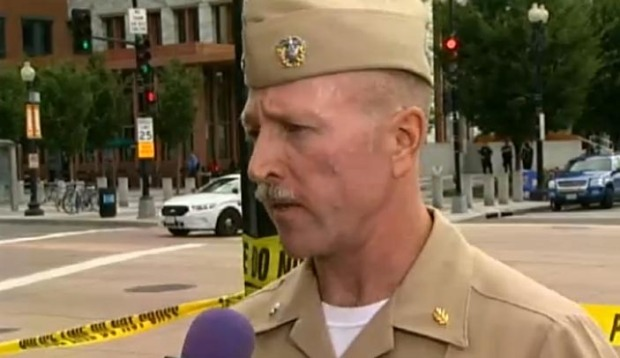 [NATL] Navy Yard Commander Describes Shooting Scene