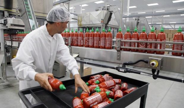 Sriracha Under Fire