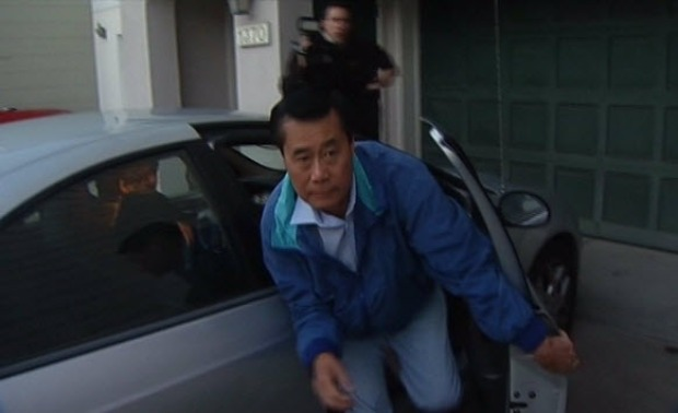 [BAY] RAW VIDEO: Sen. Leland Yee Returns Home After Arrest